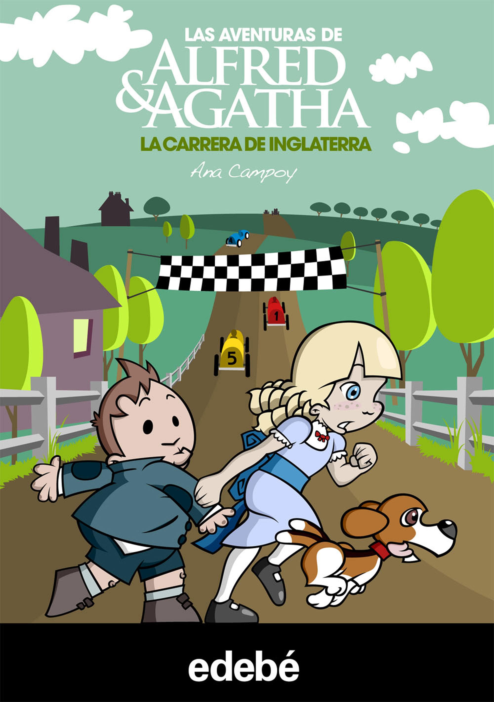 Las aventuras de Alfred y Agatha 6: La carrera de Inglaterra