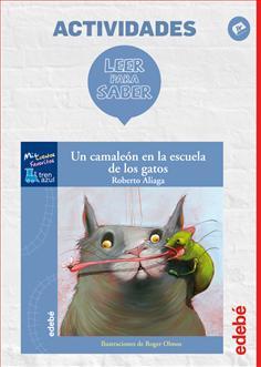 Leer para saber. Un camaleón en la escuela de los gatos